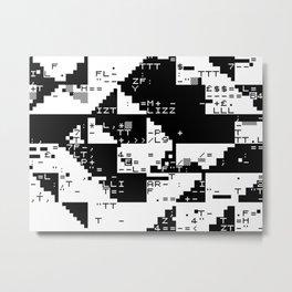 lizz/glch Metal Print