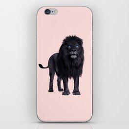 BLACK LION iPhone Skin