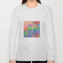 Flowers at Dawn Long Sleeve T-shirt