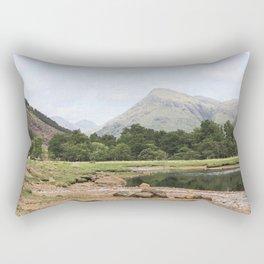 Here is realization - Glen Etive, Scotland Rectangular Pillow