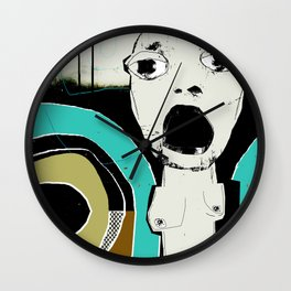 « pris dans l'engrenage » Wall Clock