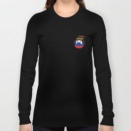 Russia Polandball memes Russian Flag Long Sleeve T-shirt