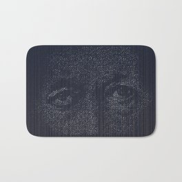 Leviathan: Jonah in the Belly of the Fish Bath Mat