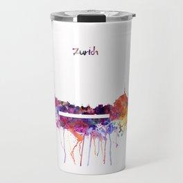 Zurich Skyline Travel Mug