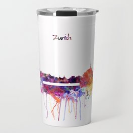Zurich Skyline Travel Mug