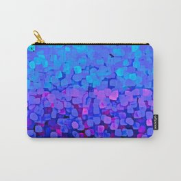 Sparkles Glitter Blue Carry-All Pouch