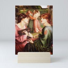 Dante Gabriel Rossetti - The Bower Meadow, 1872 Mini Art Print