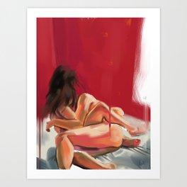 Morning Caress Art Print