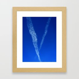 V-Sky Framed Art Print