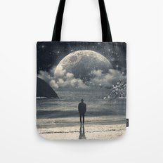Meeting with her Tote Bag