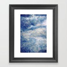 Rainy Skies Framed Art Print