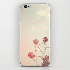 Sweet Summertime iPhone & iPod Skin