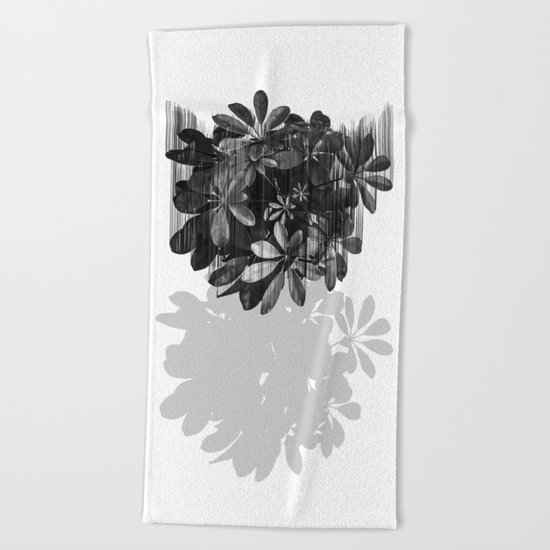 Sadly, there are no parachutes for plants. Beach Towel