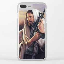 Assault Rifle Messiah Clear iPhone Case