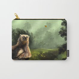 Butterfly Bear Carry-All Pouch