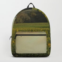 Once Upon a Time a Field of Flowers Backpack