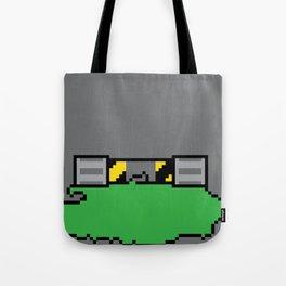 Teenage Mutant Ninja Pixels Tote Bag