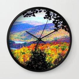 Cabsink16DesignerPatternIP Wall Clock