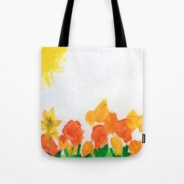 Watercolor Floral Series B Tote Bag