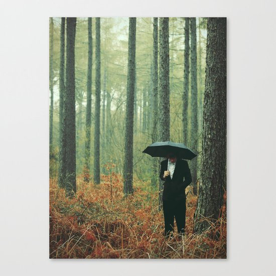 Trees In Suits Canvas Print