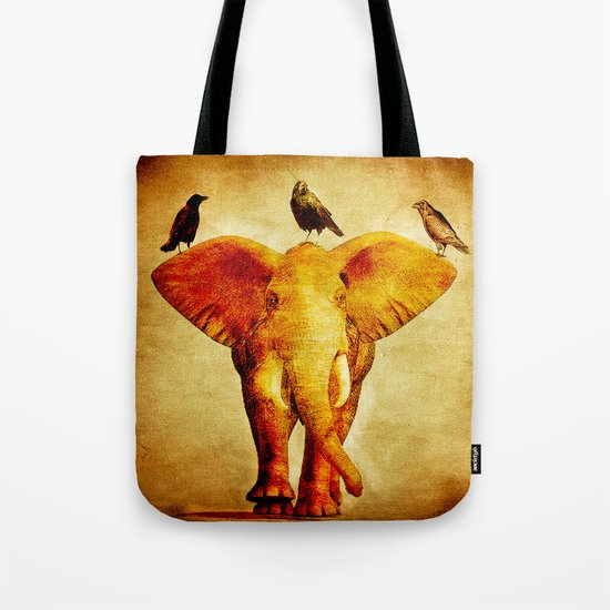 Perch of ravens Tote Bag