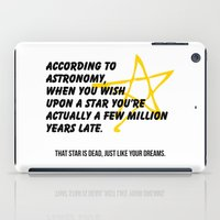 astronomy iPad Cases featuring According to Astronomy by Spooky Dooky