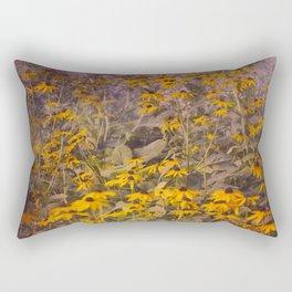 Yellow Jungle Rectangular Pillow