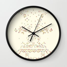 Puffer Train Wall Clock