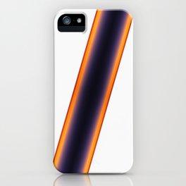 White Stripes iPhone Case