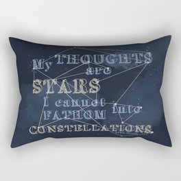TFIOS - My Thoughts Are Stars Rectangular Pillow
