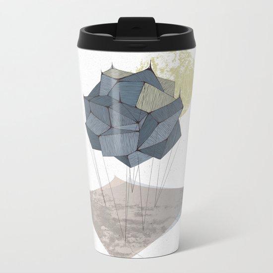 The Rock of Humanity Metal Travel Mug