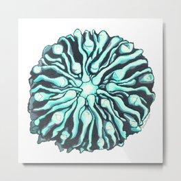 Capricious Cactus Metal Print