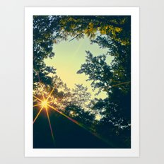 Last Days of Summer Art Print