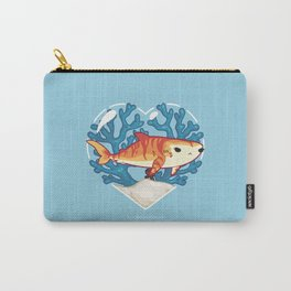 CHOMP the Tiger Shark Carry-All Pouch