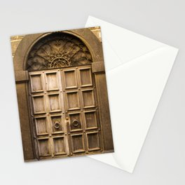 Orvieto Door Stationery Cards