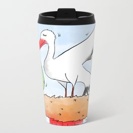 It's a Baby! Metal Travel Mug