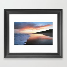 A Beautiful Sunrise Framed Art Print