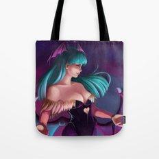 Morrigan-Darkstalkers Tote Bag