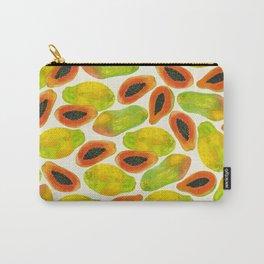Plentiful Papaya Carry-All Pouch