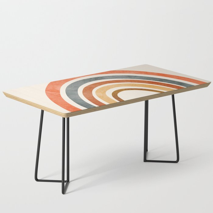 Abstract Rainbow 88 Coffee Table