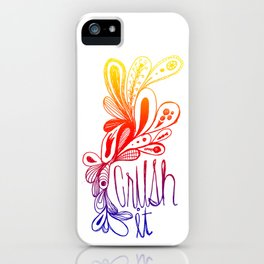 White Gradient iPhone Case