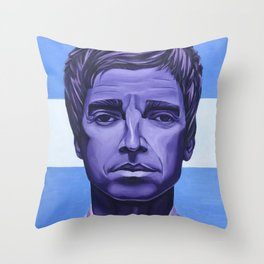 God Like Genius Throw Pillow