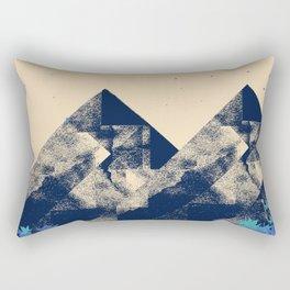Blue Mountains #society6 #decor #buyart Rectangular Pillow