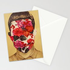 that face Stationery Cards