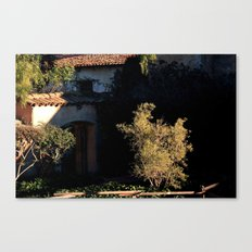 mission olive Canvas Print
