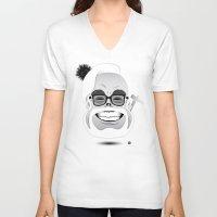 hayao miyazaki V-neck T-shirts featuring Dōmo Arigatō Hayao Miyazaki (Original version) by Arian Noveir