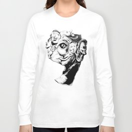 9 faces 9 Long Sleeve T-shirt