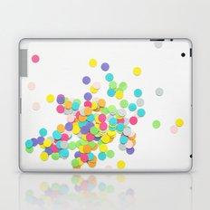 Confetti on White Laptop & iPad Skin