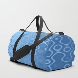 Lost in Dots (air & water blues) Duffle Bag