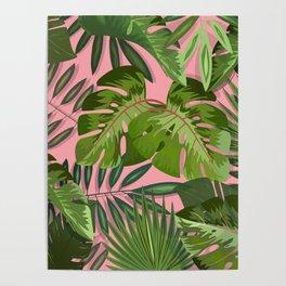 Pink b. summer Poster